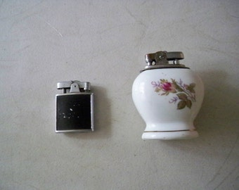 Two Vintage 1960's Cigarette Lighters