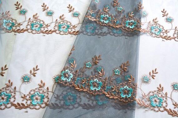 Cyan Blue Lace Dress