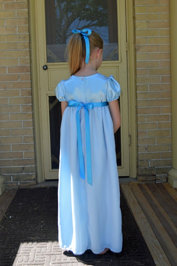 Wendy Darling Costume Girls Peter Pan Tinkerbell By