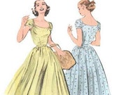 Butterick Retro 1950s summer dress reissued pattern uncut and factory folded Out of Print