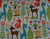 "Riley Blake Fabric ""Woodland Tails"""