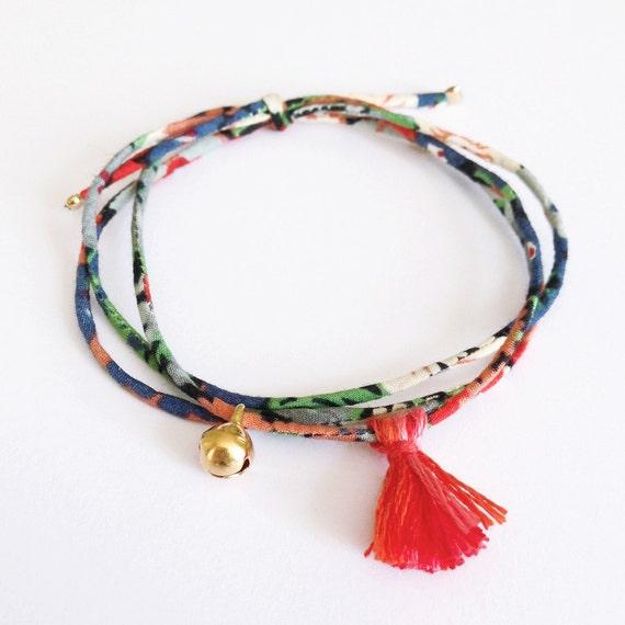 liberty bracelet jingle bell gold plated bracelet by