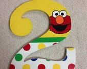 Character Photo Prop - Wooden - Hand Painted - Custom - 1st birthday - 2nd birthday