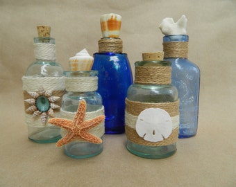 Vintage Seaside Bottles