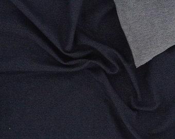 DENIM-LOOK organic cotton jersey knit