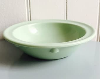 Vintage 1960s Pastel Green Melmac Tray/Bowl