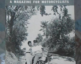 Harley Davidson The Enthusiast Magazine 1955 OHV KH Police Model 1954