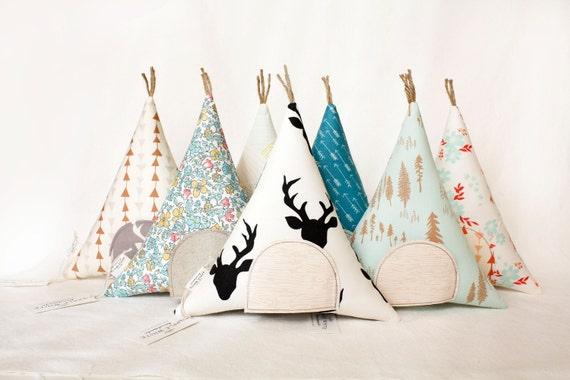 Tooth Fairy Gift for Kids Teepee Stuffed Toy Pillow