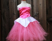 Sleeping Beauty Dress- Disney Princess Dress - Princess Aurora costume - Princess Dress -Hot Pink Aurora Costume - Costume Aurora