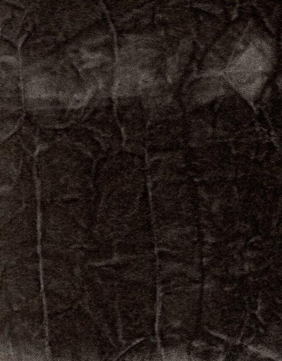 crushed flocking velvet upholstery curtain fabric charocal. Black Bedroom Furniture Sets. Home Design Ideas