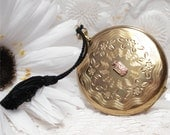 Vintage Zell Fifth Ave Compact 1897 Crest Watch Style Unused