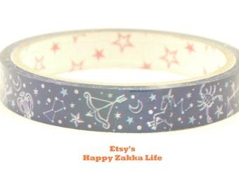 Translucent Sticky Tape - Horoscope - 27 yards