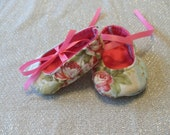 Newborn Soft Sole Mary Jane Baby Shoes