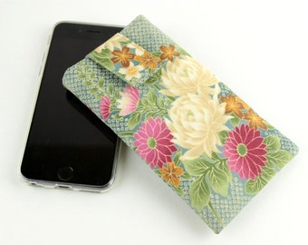 iPhone 6 Sleeve Cover Case, Customize to your phone,Chrysanthemum, Cherry Blossoms