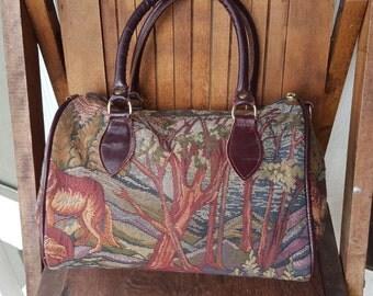WOLF   ///    Fabric Doctor Bag