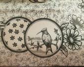 Aesthetic Movement Covered Casserole, Trasferware,Soup Tureen, Serving Dish, birds, hummingbird, quail,cherry blossom, parrot, butterflies