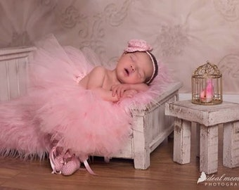 FREE SHIPPING Newborn Photo Prop Classic Antique Midnight Black Doll Bed