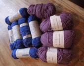 Cotton Yarn, Calling all Knitters and Crocheters in Luscious Berry Shades