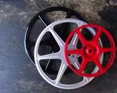 Vintage Repurposed Film Reels Set of 3