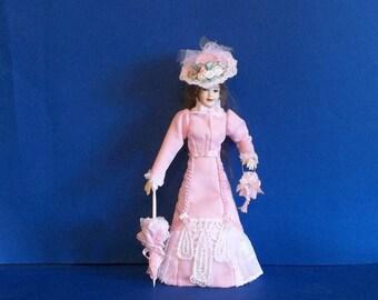 1/12 Scale Dollhouse Miniature Wearable Heidi Ott Dress