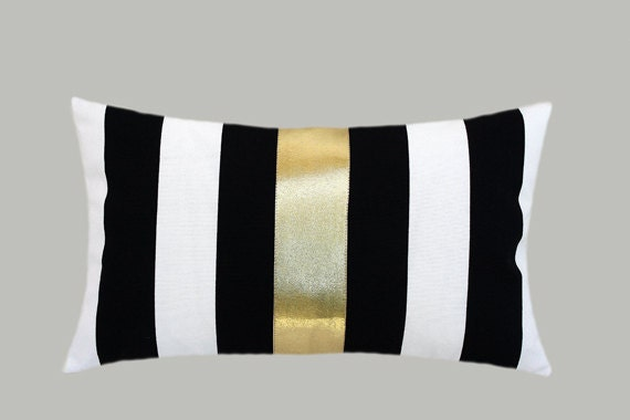 gold striped pillow cases jpg 1500x1000