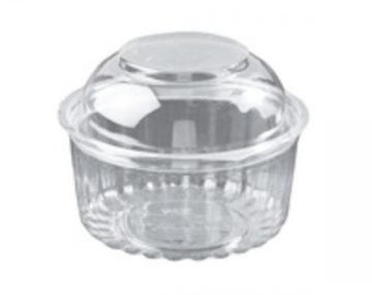 60 Mini Bundt Cake Containers w/hinged Lid - Favors