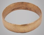 Authentic Ancient Viking Wedding Band Jewelry C.866-1067A.D. Size 11 (20.6mm)(Brr717) anniversary wedding band