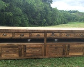 Reclaimed Chestnut Console - Ready To Ship