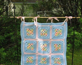 Super Granny Baby Blanket Crochet Pattern