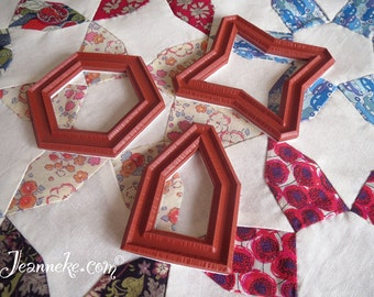 JASMINE Quilt Stamp set (only rubbers)