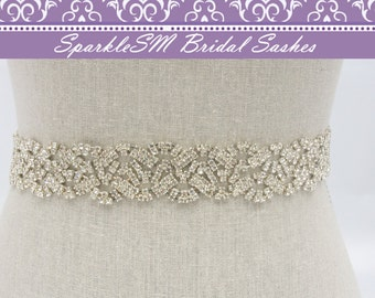 Bridal Sash, Wedding Sash, Bridal Belt, Crystal Bridal Belt, Wedding Sash, Swarovski Sash, Rhinestone Sash Bridal Dress Sash Prom Dress Sash