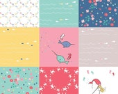Fat Quarter ONLY - White Saltwater Patchwork From Riley Blake