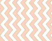 Blush Chic Chevron Pearlized From Michael Miller's Glitz Collection