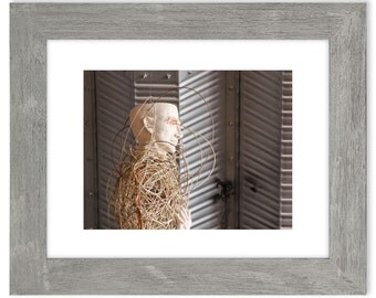Taos New Mexico Art Matted Print