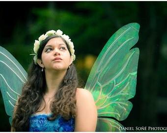 Iridescent  Faery Wings Titanya - Fantasy Fairy Wings