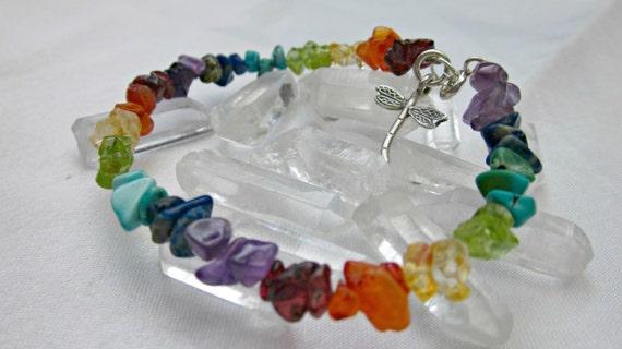 seven beautiful gemstones chakra bracelet