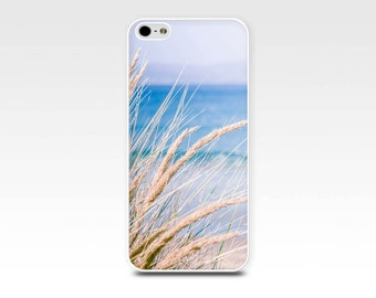 beach iphone 6 case nautical iphone case 5s beach scene iphone case 5 ocean iphone case 4s coastal iphone case 4 beach grasses girly case