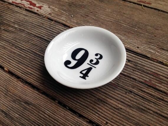 Platform 9 3/4 Ring Dish | Trinket Dish |Ring Holder | Engagement Gift