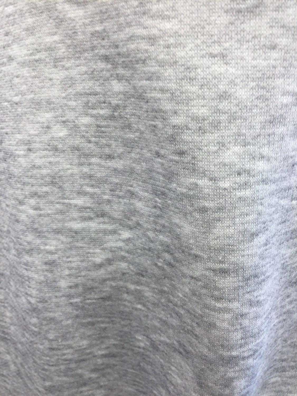 Poly Cotton Sweatshirt Fleece Fabric By The Yard Heather