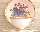 Fruit Teacup Set - Paragon By Appointment Fine Bone China England