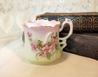 Mustache Cup Hand Painted Nippon From the Victorian Era