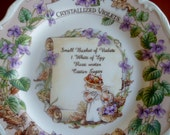Brambly Hedge Crystallized Violets Plate - Royal Doulton - Jill Barklem - Second quality