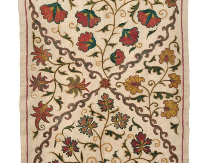 Hand Embroidered Uzbek Modern Suzani 2033