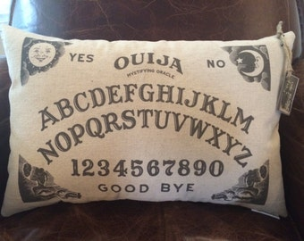 Ouija Board Pillow