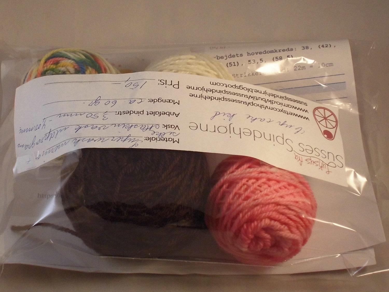 DIY Knitting Kit For Cupcake Hat, Cupcake Hat Pattern, Diy Baby To ...
