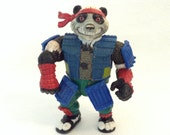 Panda Khan - TMNT - collectible toy - action figure - 90s - Playmate toys