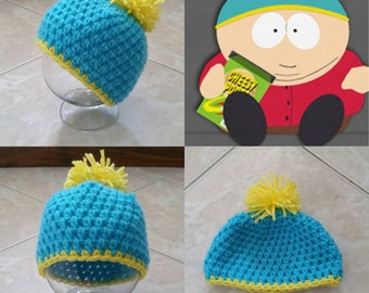 Crochet Cartman Beanie/Hat (South Park)