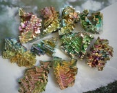 Bismuth metalloid specimen - Harnessed energy, structure, systems, organization