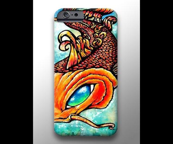Items similar to koi fish painting iphone 4 4s 5 5s 5c 6 for Plastic koi fish