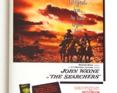 The Searchers Movie Poster Fridge Magnet (2 x 3 inches)
